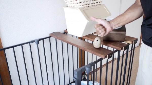 犬のケージの屋根手作り11