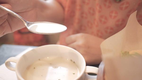 Olu 'olu Cafe (オルオルカフェ)ビシソワーズスープ