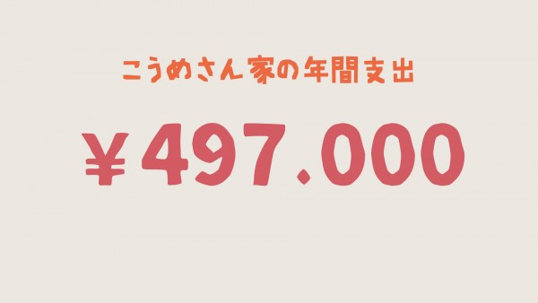 フレンチブルドッグ年間費用497000円