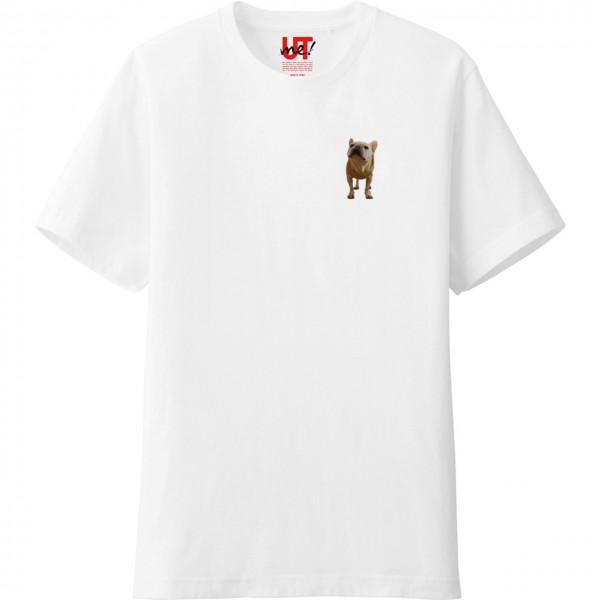 UTme2019フレンチブルドッグこうめさんTシャツみに