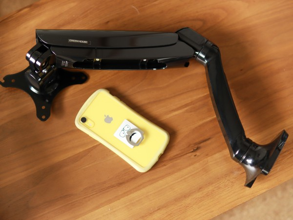 ガススプリング式ディスプレイ用アーム4軸モデルGH-AMCD01