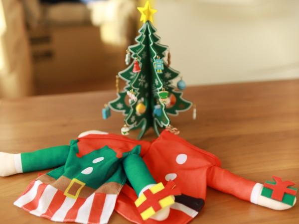 3coinsクリスマスツリーサンタコスプレ